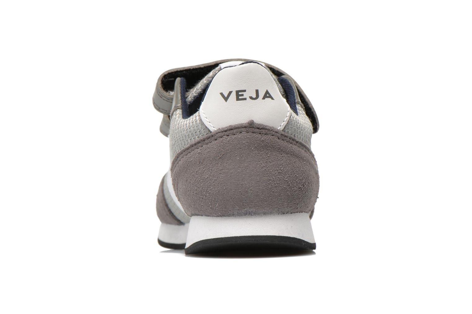 Trainers Veja ARCADE SMALL B MESH VELCRO Grey view from the right