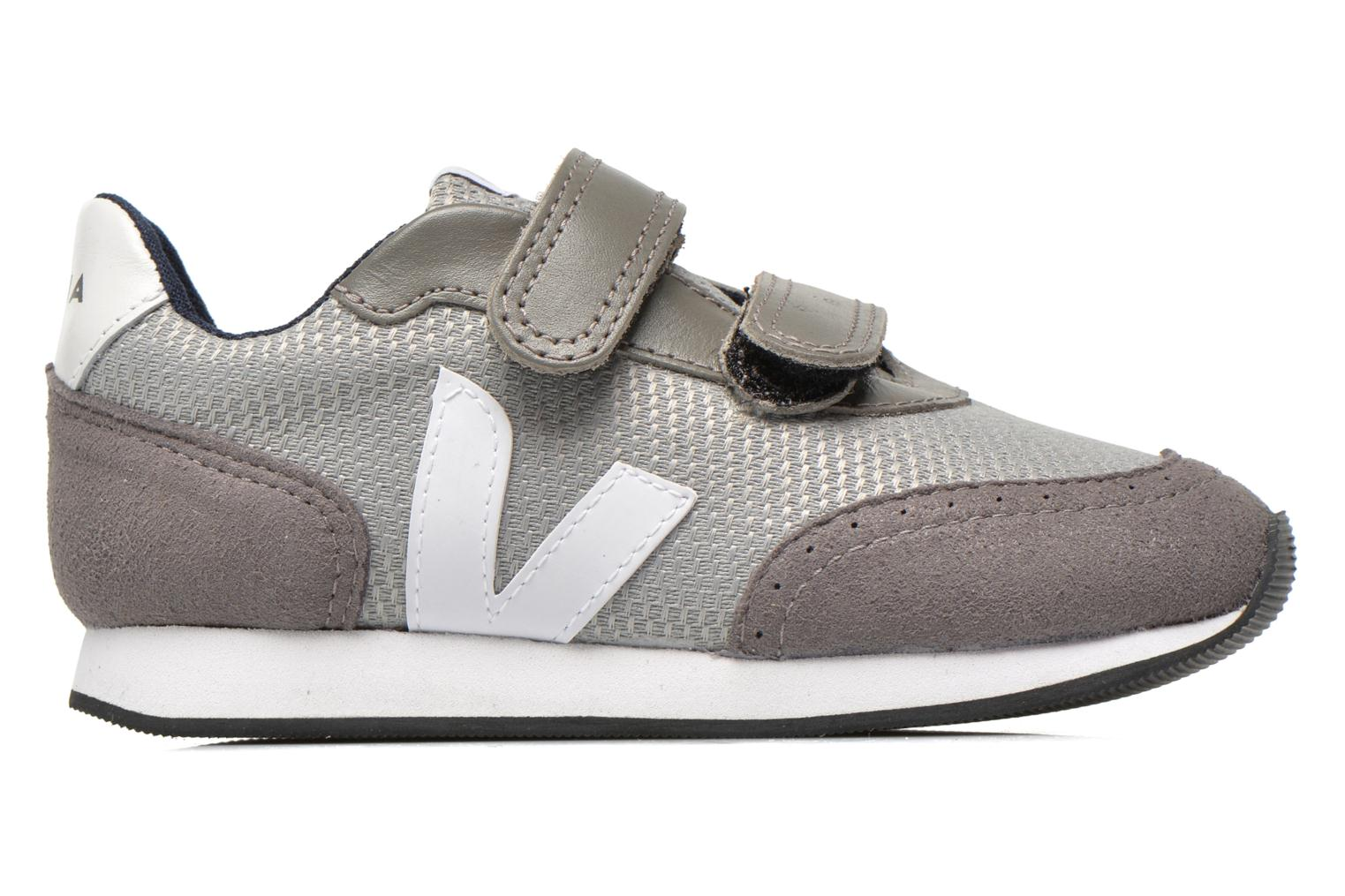 Trainers Veja ARCADE SMALL B MESH VELCRO Grey back view