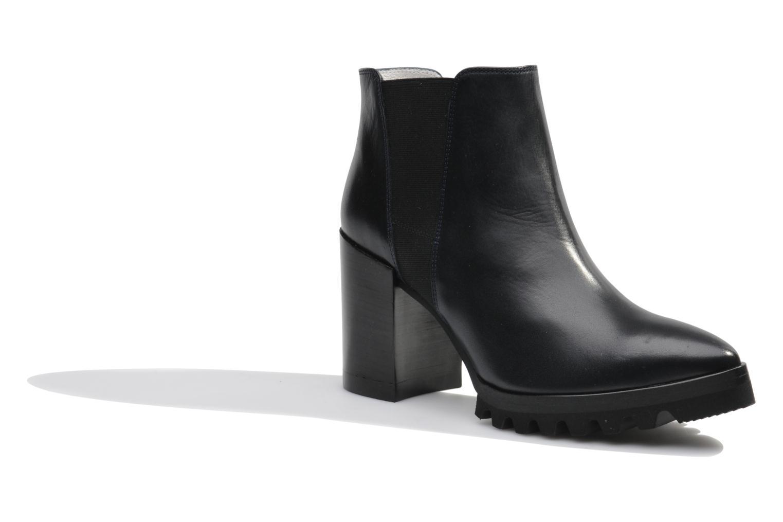 Bottines et boots Made by SARENZA Queen of pétanque #1 Bleu vue droite