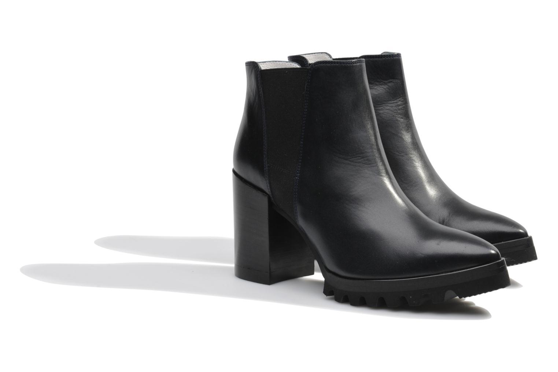 Bottines et boots Made by SARENZA Queen of pétanque #1 Bleu vue derrière