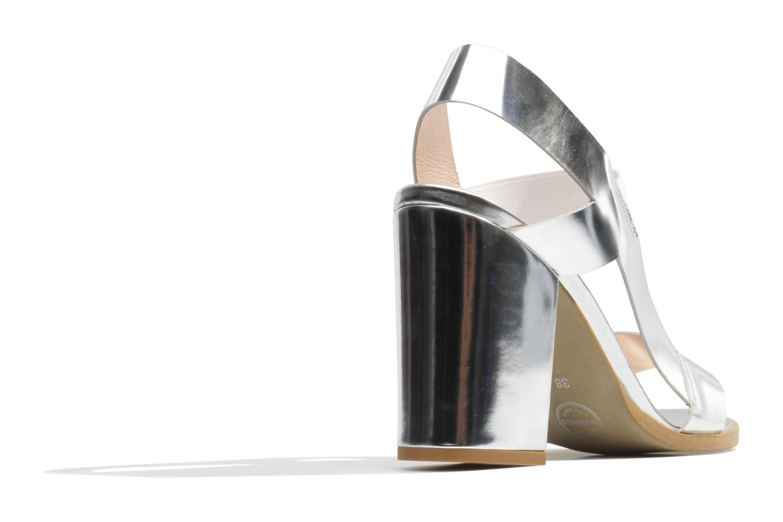 Sandalen Made by SARENZA Pool Party #4 silber ansicht von vorne