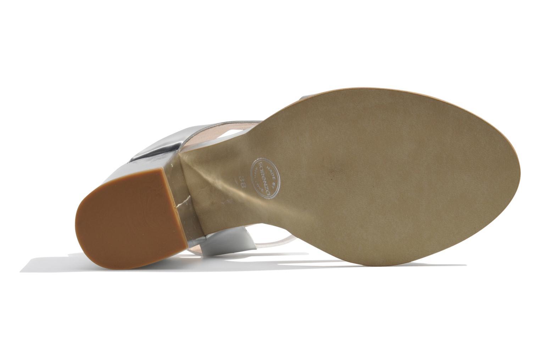 Sandalen Made by SARENZA Pool Party #4 silber ansicht von links