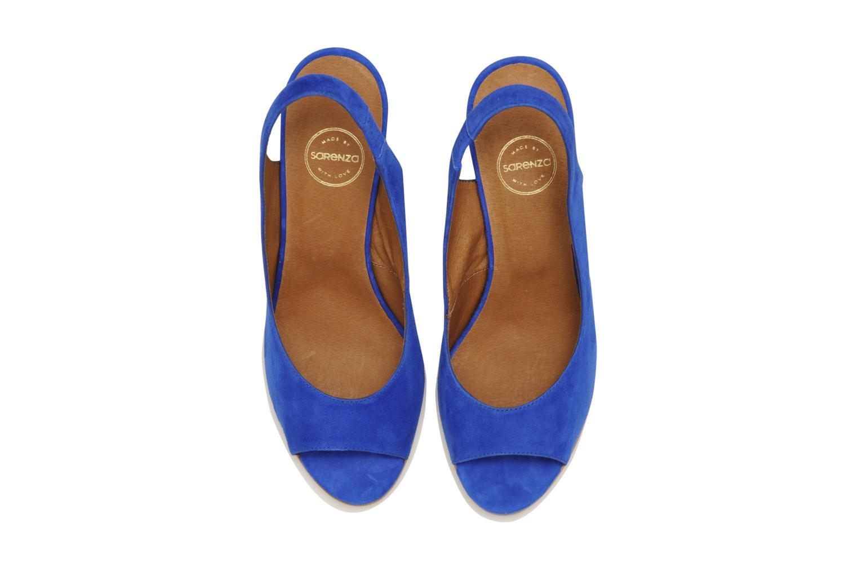 Sandales et nu-pieds Made by SARENZA Bamako #2 Bleu vue portées chaussures