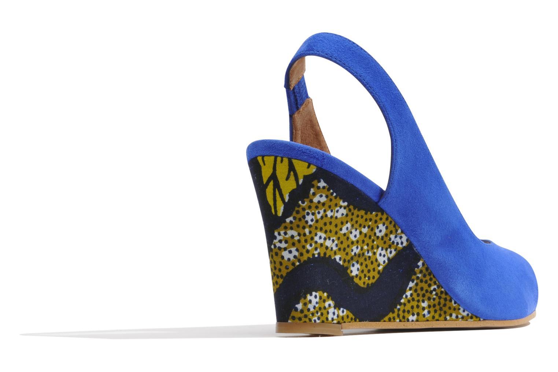 Sandales et nu-pieds Made by SARENZA Bamako #2 Bleu vue face