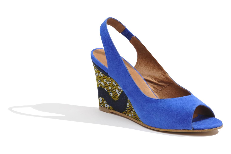 Sandales et nu-pieds Made by SARENZA Bamako #2 Bleu vue droite