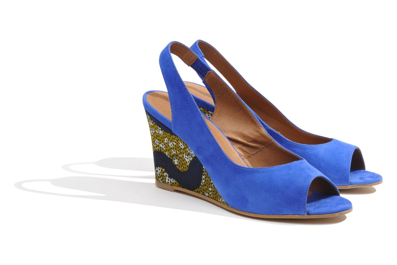 Sandales et nu-pieds Made by SARENZA Bamako #2 Bleu vue derrière