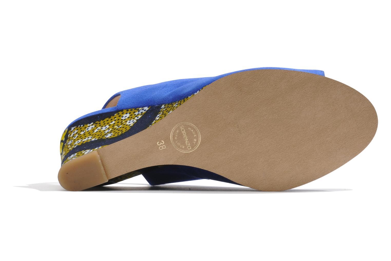 Sandales et nu-pieds Made by SARENZA Bamako #2 Bleu vue gauche