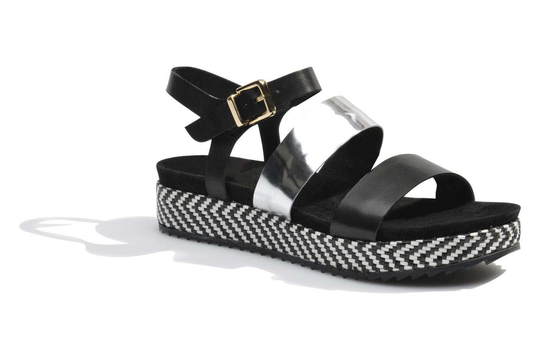 Sandales et nu-pieds Made by SARENZA Nairobi #4 Noir vue droite
