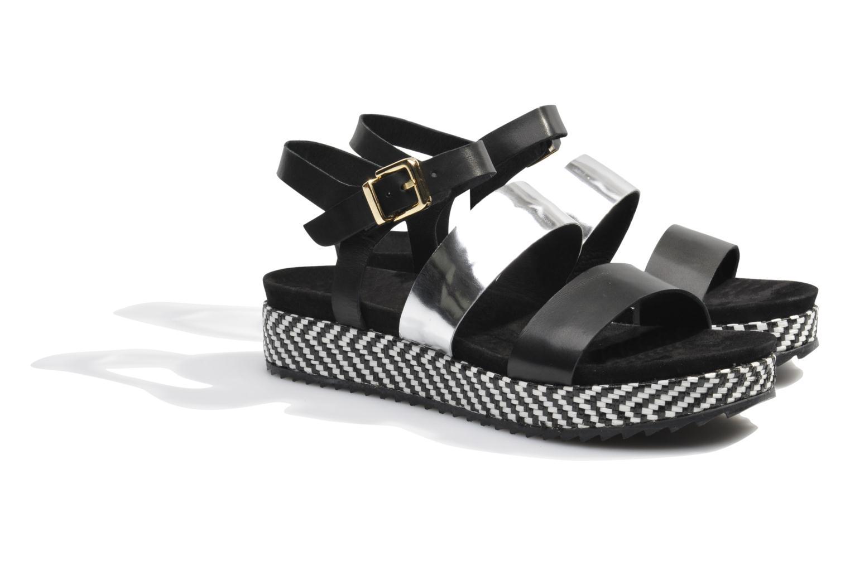 Sandales et nu-pieds Made by SARENZA Nairobi #4 Noir vue derrière