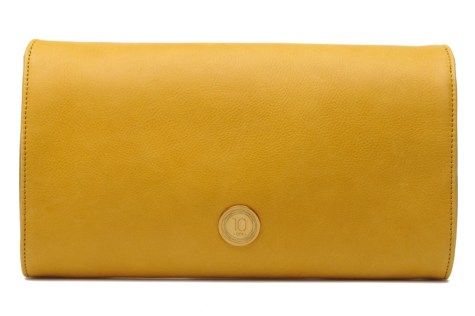 Clutch bags Nat & Nin Bastille Day Yellow front view