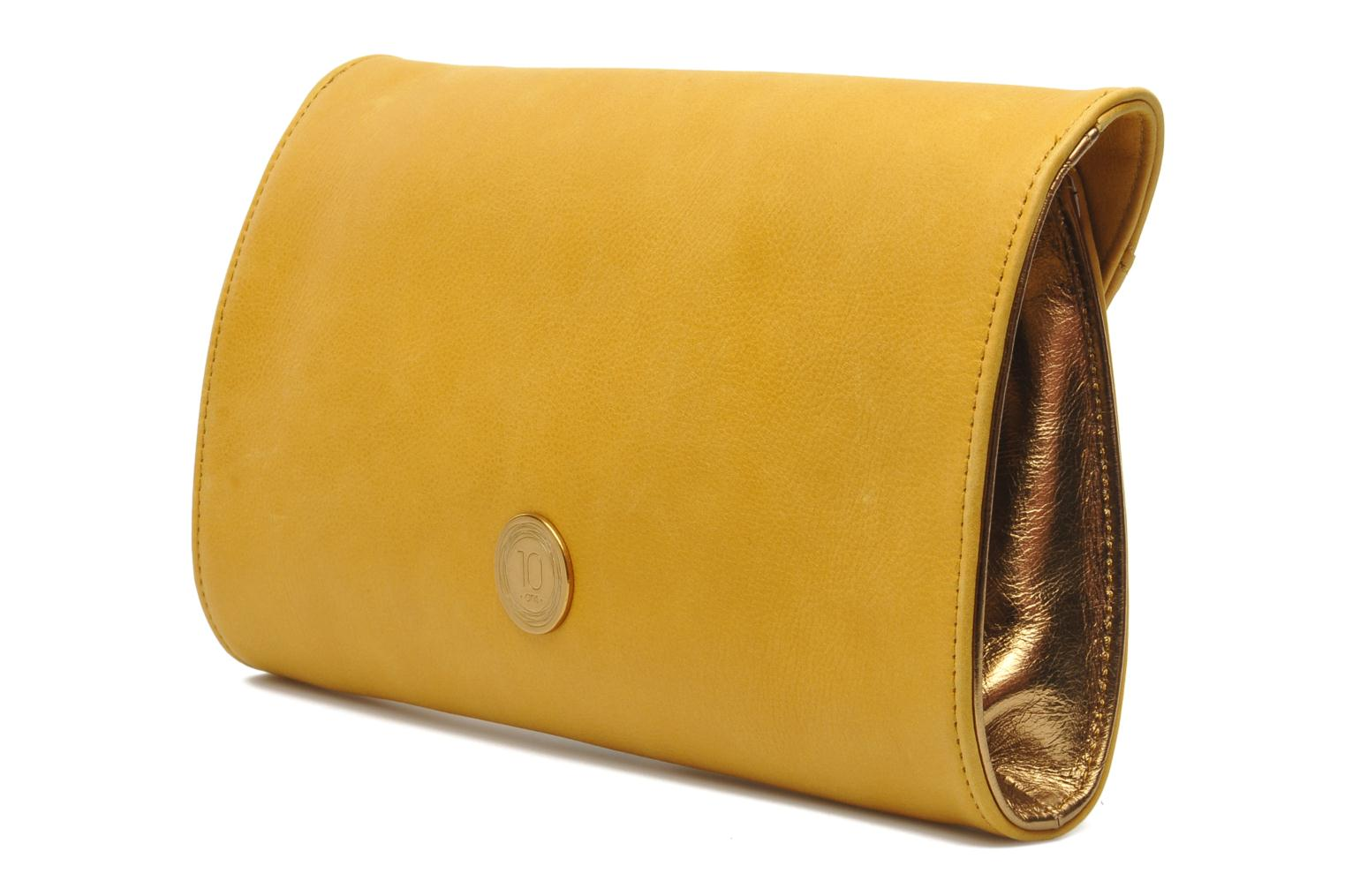 Clutch bags Nat & Nin Bastille Day Yellow view from the right