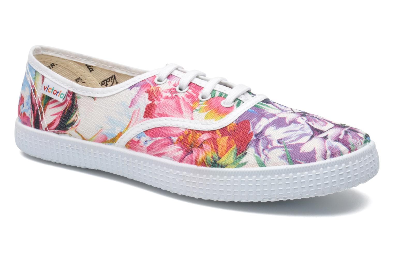 Victoria Estamp. Flores Flores Blanco