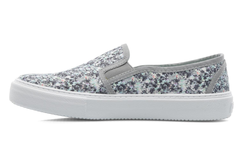 Sneaker Victoria Slip-on Flores mehrfarbig ansicht von vorne