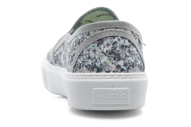 Sneaker Victoria Slip-on Flores mehrfarbig ansicht von rechts