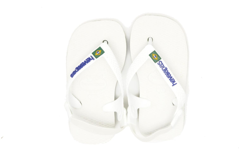 Slippers Havaianas Baby Brazil Logo Wit 3/4'