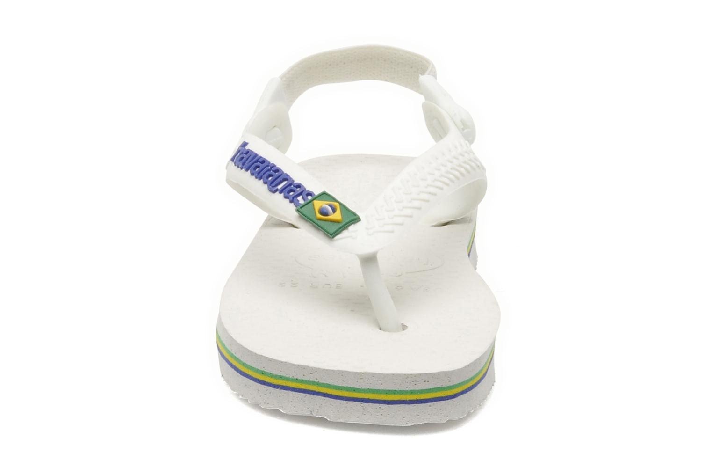 Slippers Havaianas Baby Brazil Logo Wit model