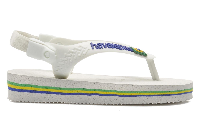 Slippers Havaianas Baby Brazil Logo Wit rechts