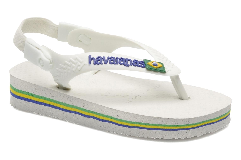 Slippers Havaianas Baby Brazil Logo Wit detail