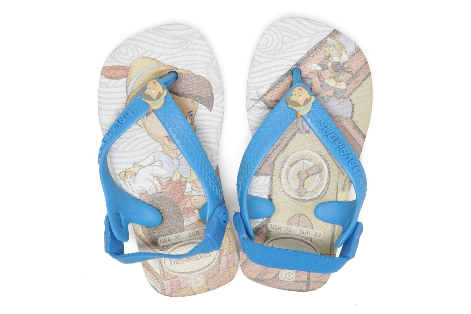 Flip flops Havaianas Baby Disney Retro Multicolor 3/4 view