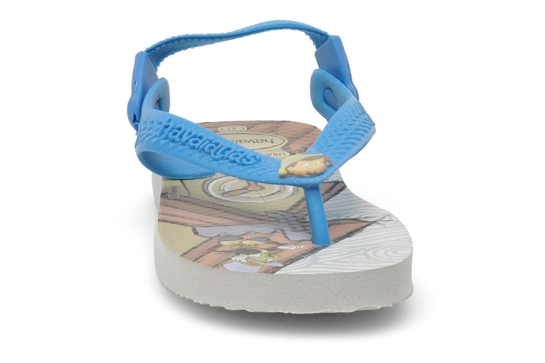 Tongs Havaianas Baby Disney Retro Multicolore vue portées chaussures