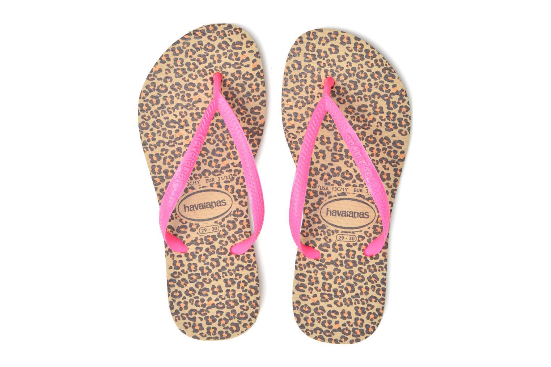 Kids Slim Animals Sand Grey/ Pink