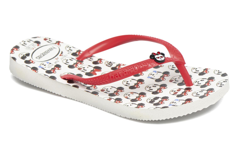 Kids Slim Disney Cool White/Ruby Red