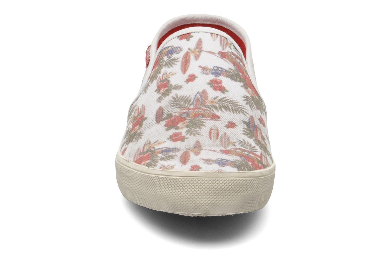 Baskets D.A.T.E Skate Fantasy Multicolore vue portées chaussures