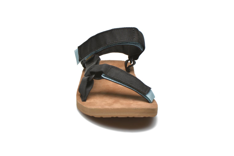 Sandales et nu-pieds Teva Original Universal Backpack Noir vue portées chaussures