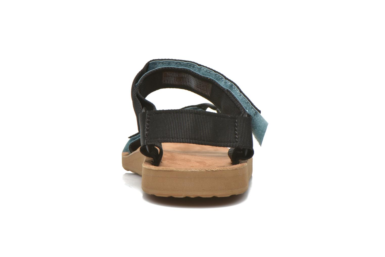 Sandales et nu-pieds Teva Original Universal Backpack Noir vue droite