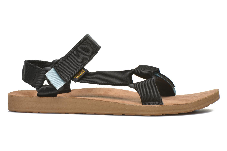 Sandales et nu-pieds Teva Original Universal Backpack Noir vue derrière