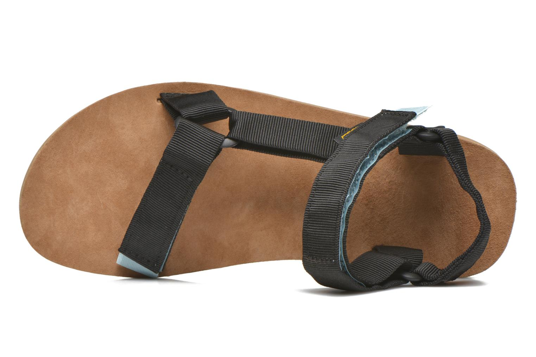 Sandales et nu-pieds Teva Original Universal Backpack Noir vue gauche