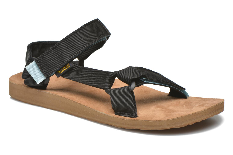 Sandales et nu-pieds Teva Original Universal Backpack Noir vue détail/paire