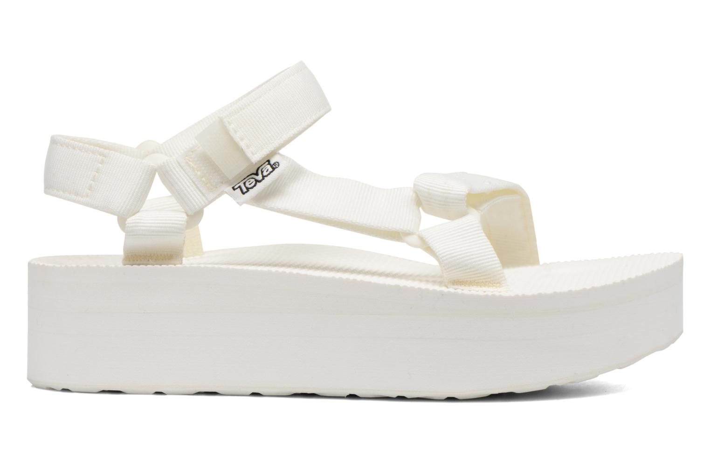 Sandales et nu-pieds Teva Flatform Universal Blanc vue derrière