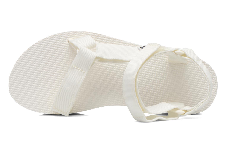Sandalen Teva Flatform Universal weiß ansicht von links