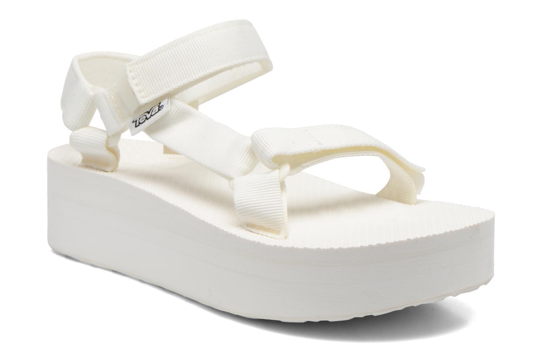 Sandales et nu-pieds Teva Flatform Universal Blanc vue détail/paire