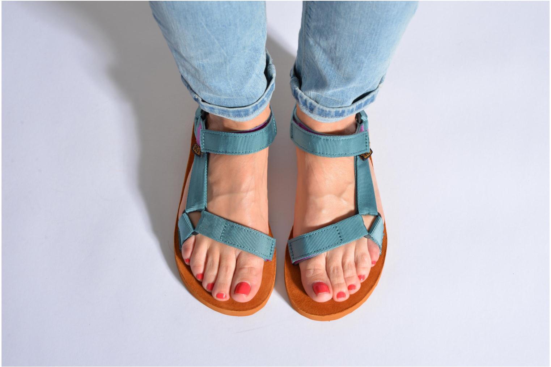 Sandales et nu-pieds Teva Original Universal Backpack Multicolore vue bas / vue portée sac