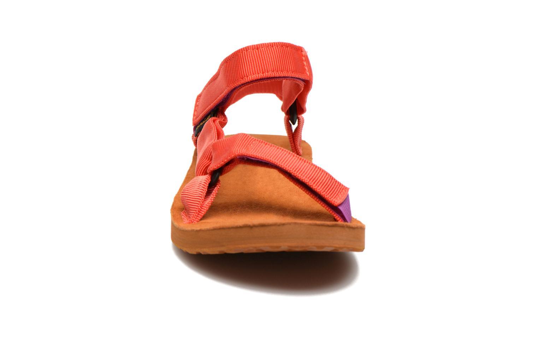 Sandalen Teva Original Universal Backpack mehrfarbig schuhe getragen