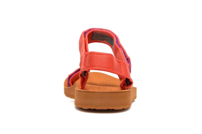 Sandales et nu-pieds Teva Original Universal Backpack Multicolore vue droite