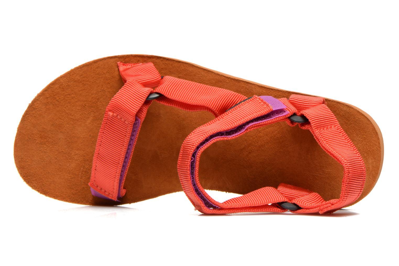 Sandales et nu-pieds Teva Original Universal Backpack Multicolore vue gauche