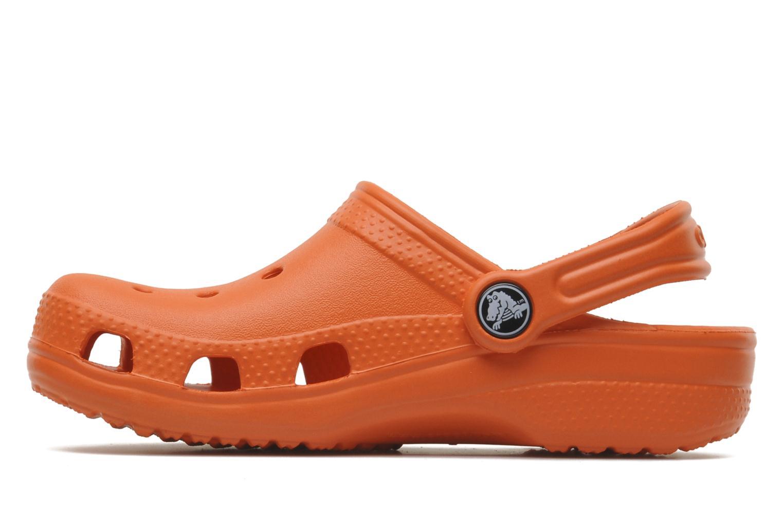 Sandalen Crocs ClassicKids orange ansicht von vorne