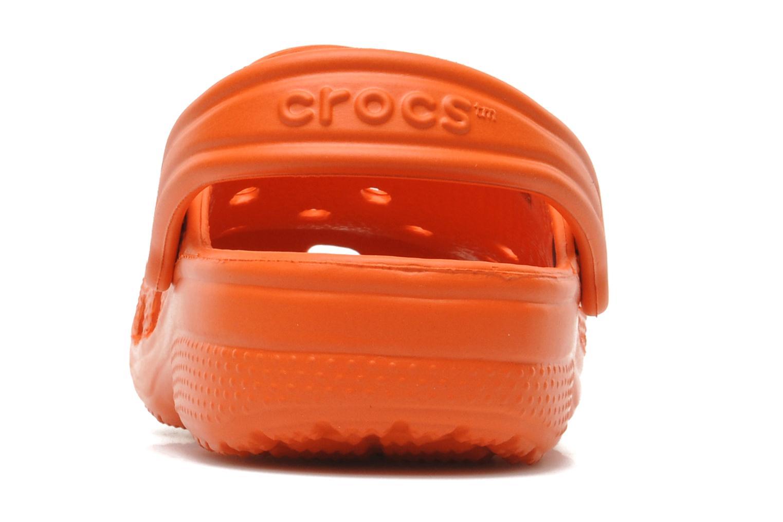 Sandalen Crocs ClassicKids orange ansicht von rechts