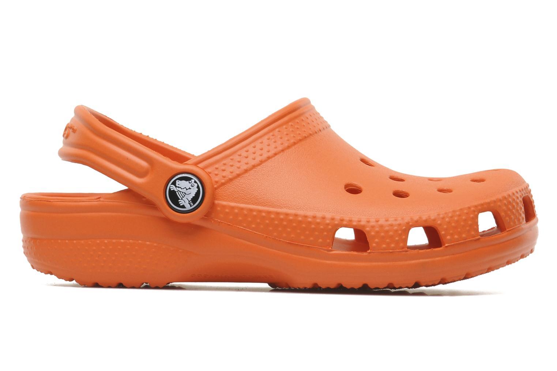 Sandalen Crocs ClassicKids orange ansicht von hinten