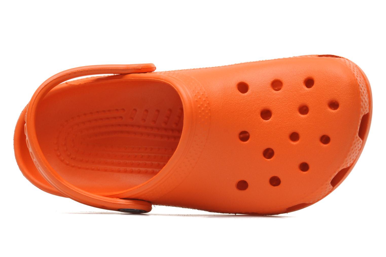 Sandalen Crocs ClassicKids orange ansicht von links