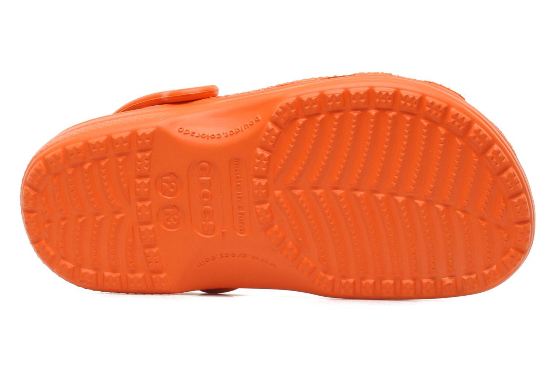 Sandalen Crocs ClassicKids orange ansicht von oben
