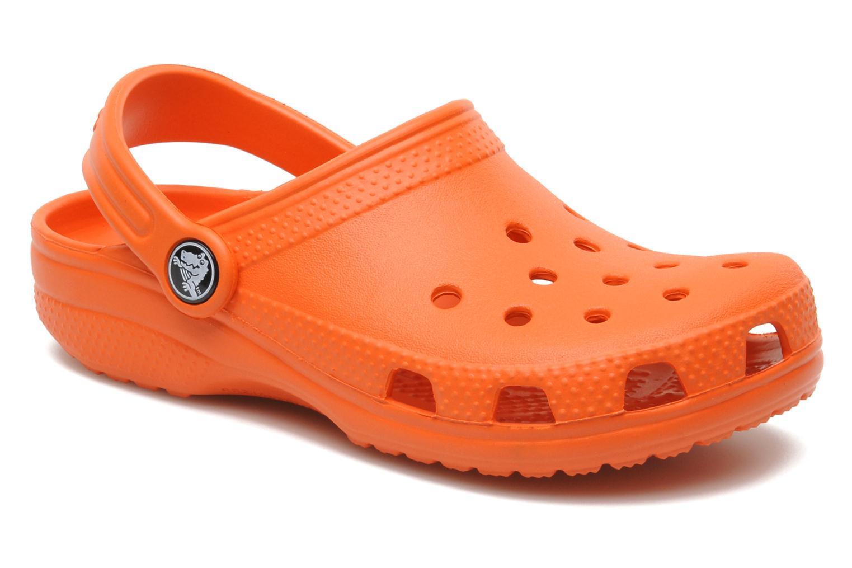Sandalen Crocs ClassicKids orange detaillierte ansicht/modell