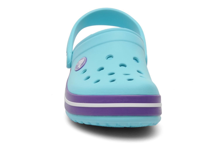 Sandales et nu-pieds Crocs CrocbandKids Bleu vue portées chaussures