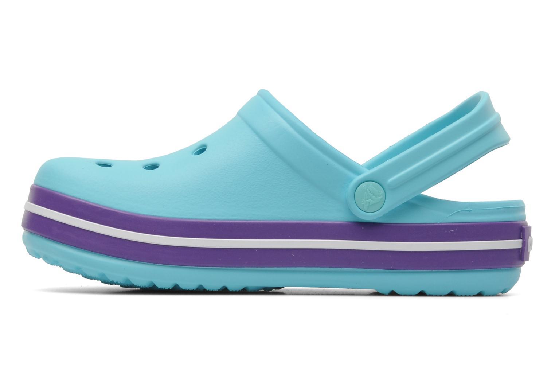 Sandales et nu-pieds Crocs CrocbandKids Bleu vue face
