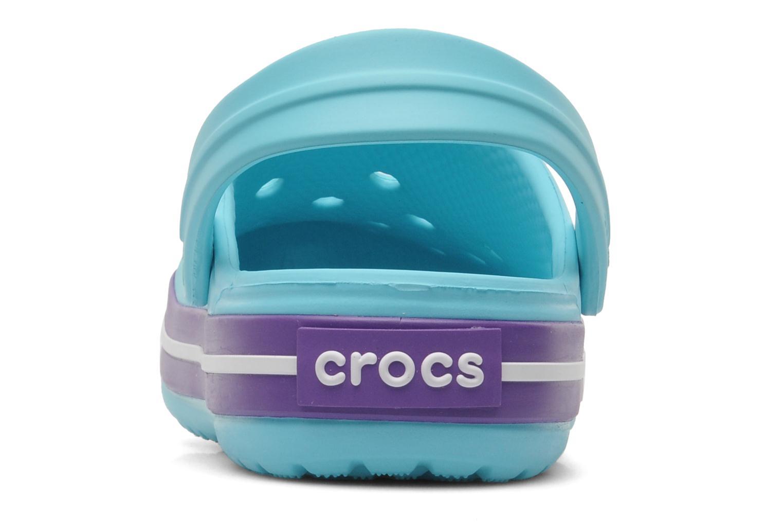 Sandales et nu-pieds Crocs CrocbandKids Bleu vue droite