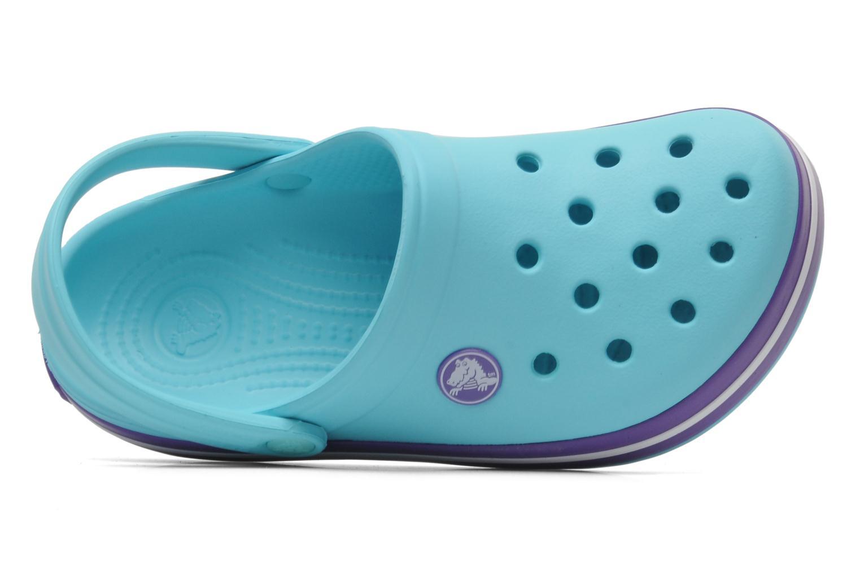 Sandales et nu-pieds Crocs CrocbandKids Bleu vue gauche