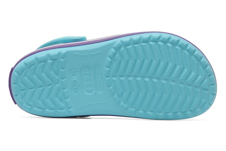 Sandales et nu-pieds Crocs CrocbandKids Bleu vue haut